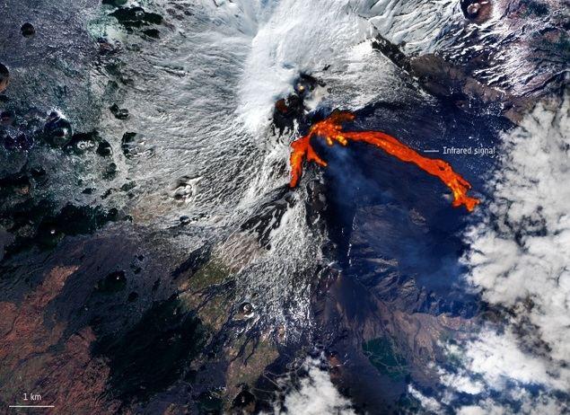 Etna entra en erupción