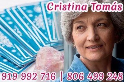 Tarot Cristina Tomás: Vidente Cristina y tarotista verdadera muy buena y fiable por teléfono