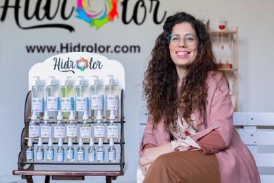 Raquel Muñoz, fundadora de la empresa de geles hidroalcohólicos Hidrolor.