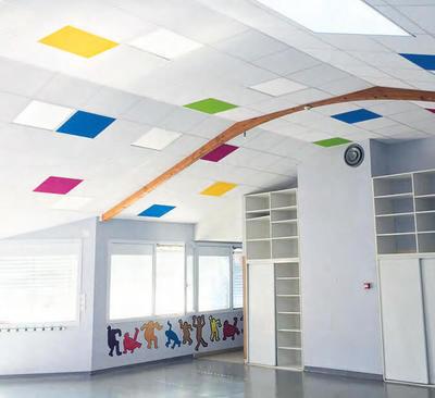 El color de los techos también influye