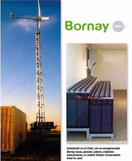 Bornay propone soluciones de energía renovable para todo tipo de instalaciones