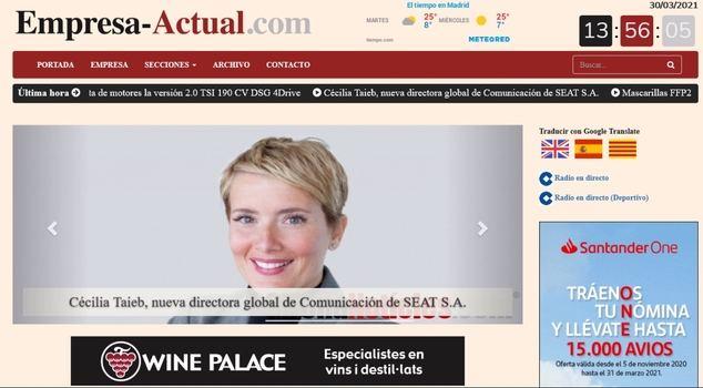 El Grupo GN pone en marcha el portal económico empresa-actual.com