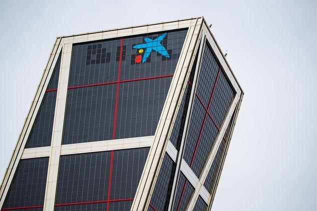 Imagen de la sede corporativa de CaixaBank en Madrid.