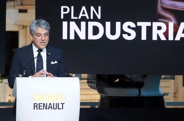 Luca de Meo, CEO del Grupo Renault.