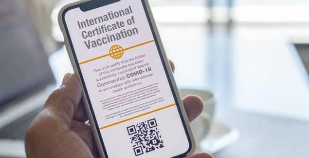 El certificado digital de vacunación, 'luz verde' para la recuperación del turismo mundial