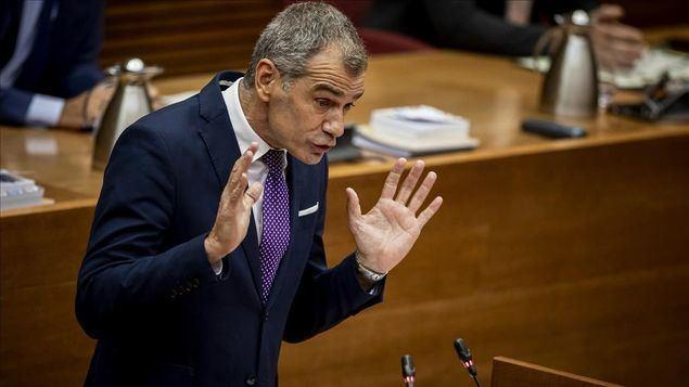 Toni Cantó, figura emergente de la política madrileña.