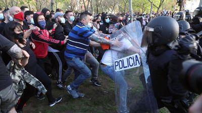 La violencia, línea roja de la democracia