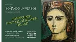 Prorrogada hasta el 23 de abril la exposición 'Soñando Universos' del pintor Miguel Herrero