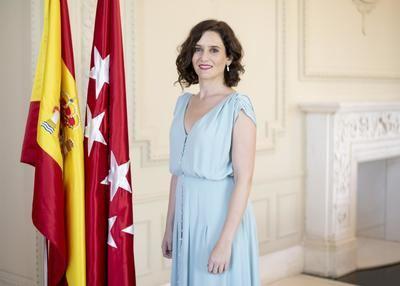 Isabel Díaz Ayuso, Presidenta de la Comunidad Autónoma de Madrid.