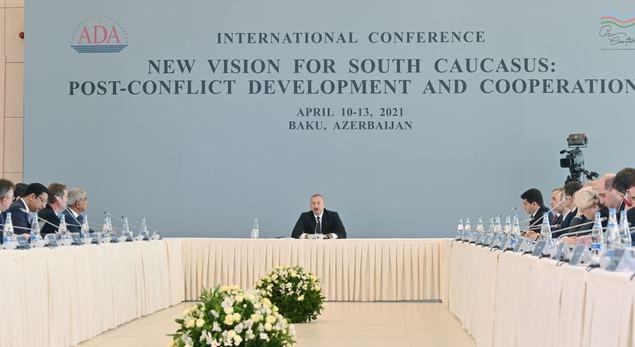 Ilham Aliyev, Presidente de Azerbaiyán, toma la iniciativa para la paz y estabilidad regional