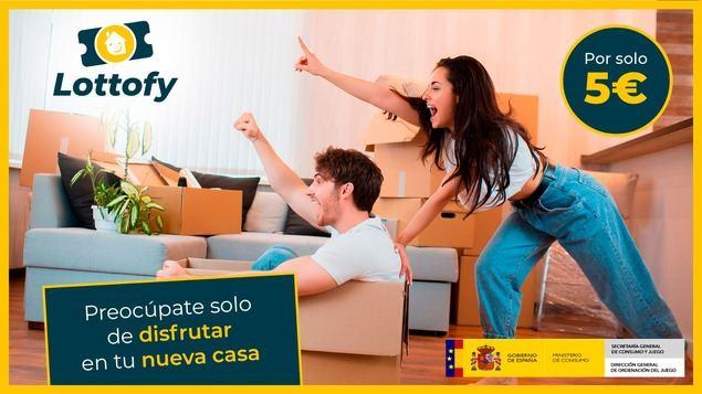 Un apartamento en Murcia puede costar 5 euros gracias a Lottofy