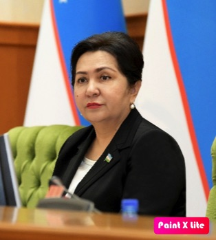 Tanzilya Narbayeva, Presidenta del Senado del Parlamento de la República de Uzbekistán.