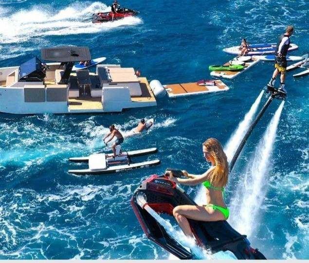 ¿Cómo realizar Flyboard Ibiza y otros deportes acuáticos en el Mediterráneo? Yacht IN Ibiza