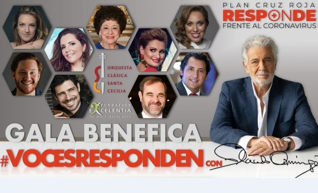 Ainhoa Arteta y Lucero Tena se unen a la gala que protagoniza Plácido Domingo y otros artistas líricos