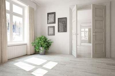 LosmaStudio: las puertas blancas de interior son una de las opciones más habituales en la decoración del hogar