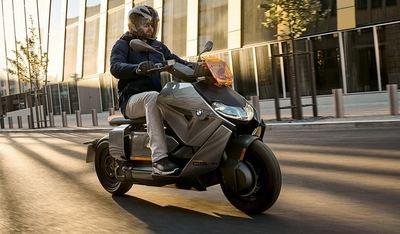 BMW presenta el CE 04, eléctrico, urbanita y con muchas ayudas tecnológicas