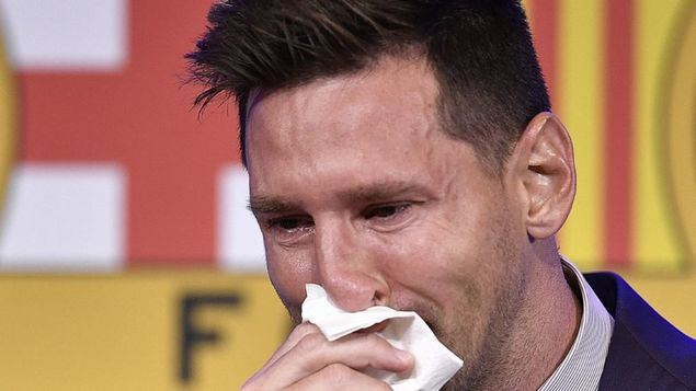 Un síntoma en Cataluña, Messi