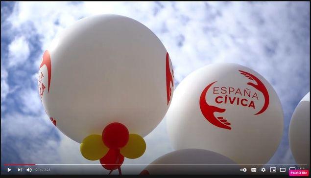 España Cívica convoca este sábado una manifestación virtual por una Cataluña constitucionalista