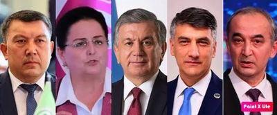 Cinco candidatos se presdentan a las elecciones ptresidenciales de Uzbekistán, con Mirziyoyev como favorito