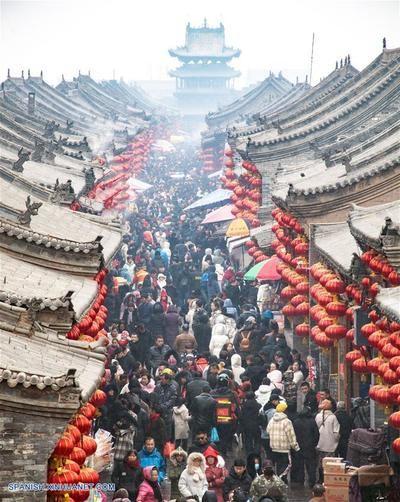 China registra 1.870 millones de viajes nacionales