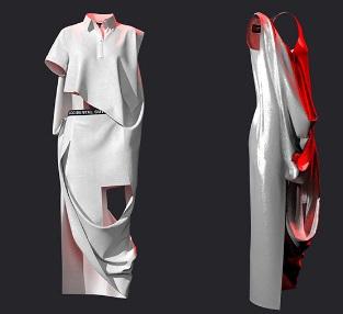 """Accidental Cutting ha presentado """"Accidental Cut""""- PV22 , en London Fashion Week"""
