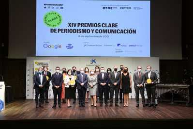 CLABE pide unidad y compromiso con el sector editorial en la XIV edición de sus premios de periodismo y comunicación
