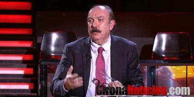 El periodista y director de El Mundo Financiero, José Luis Barceló, en un momento de su participación en el programa (Foto cortesía de GironaNoticies.es)