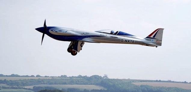 Rolls-Royce lanza una avioneta eléctrica
