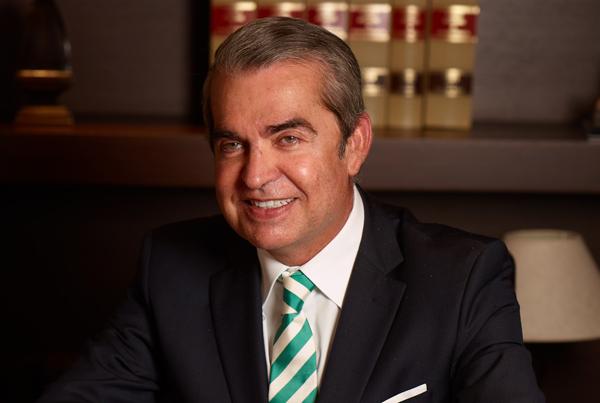 Juan Ignacio Navas, socio director del bufete Navas & Cusí.