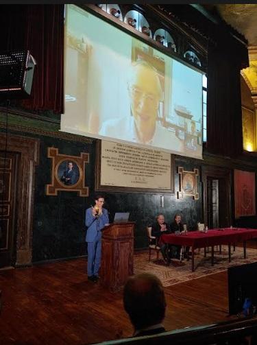 """""""Es improbable que seamos la única forma de vida en el espacio"""", anuncia John C. Mather, Premio Nobel de Física 2006 en Madrid"""