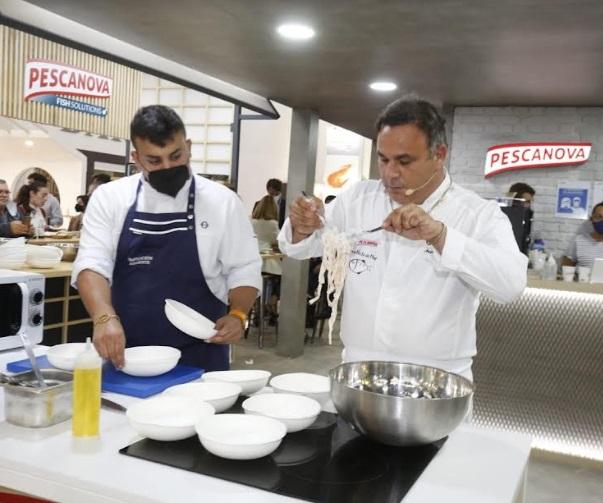 """Nueva Pescanova y Ángel León innovan con una nueva generación de """"La Pasta del Mar"""""""