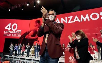 Congreso PSOE-Sánchez sin G, ni R