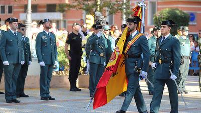 Guardias Civiles el 12 de Octubre