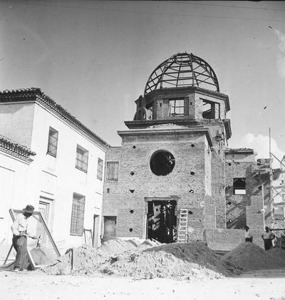 La Iglesia Maris Stella en 1960 (Fotografía de Santos Yubero).
