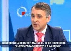Rubén Manso Olivar, profesor de Economía de la Universidad de Alcalá de Henares.
